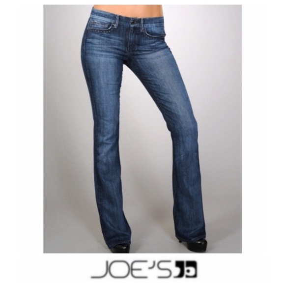 Joe's Jeans Denim - Joe's The Rocker Lean Fit dark wash Jeans